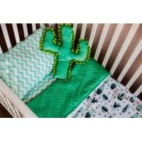 """Patalynė kūdikiui """"Žaliasis kaktusas"""""""