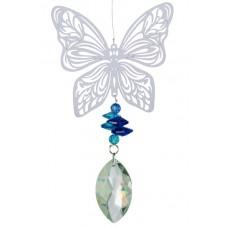 Vėjo sukutis - saulės gaudyklė Drugelis (Butterfly), 17 cm